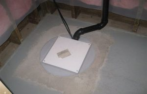 calgary sump pump systems - installed sump-pump-in-basement